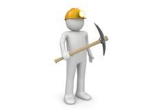 gruvarbetarearbetare Arkivfoto