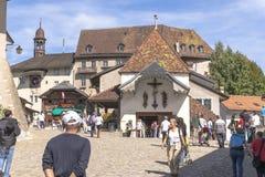 Gruyère城堡  免版税库存照片