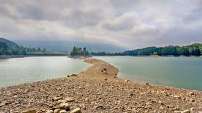 Gruyère de lac dans le canton de Fribourg, Suisse Photo stock
