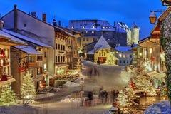 Gruyère, Zwitserland royalty-vrije stock foto's