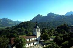 Gruyères Church, Switzerland Royalty Free Stock Photography