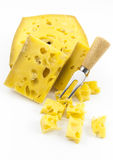 Gruyere Cheese Royalty Free Stock Photography