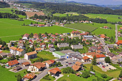 Gruyere. Lovely city in Switzerland Royalty Free Stock Photos