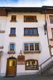 Gruyere old town canton Fribourg Royalty Free Stock Photo