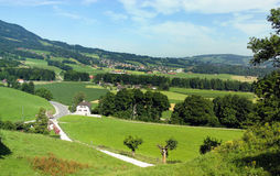 Gruyere region of Switzerland Royalty Free Stock Photo