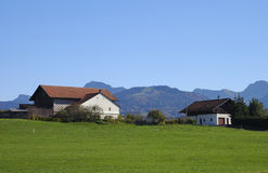 Gruyere, switzerland. A region famous for the gruyere cheese Stock Photography