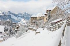 Gruyere - Szwajcaria Zdjęcia Royalty Free