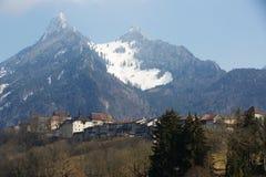 Gruyeres城堡 库存图片