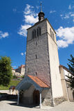 Gruyeres Church Royalty Free Stock Images