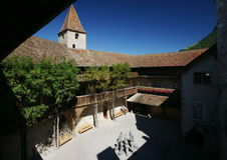 Gruyeres Schloss lizenzfreies stockbild
