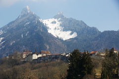 Gruyeres-Schloss Stockbilder
