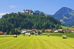 Gruyeres, Suisse Photo libre de droits