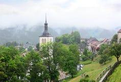 Gruyeres Suiza Fotos de archivo