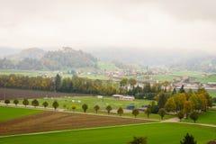 Gruyeres, Svizzera Immagine Stock Libera da Diritti