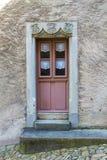 Gruyeres, Switzerland - June 10, 2016:  Detail from   Idyllic Medieval the smal Stock Photos
