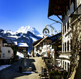 GRUYERES, SWITZERLAND Stock Photography