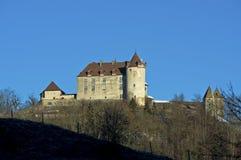 Gruyères Castle, Switzerland Stock Photo
