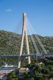 Gruz Bridge Over Cruise Ship Stock Photo
