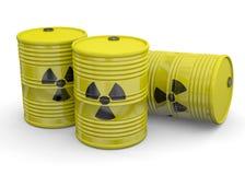 Gruz energia atomowa ilustracja wektor