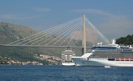 Gruz-Hafen Dubrovnik Stockbild