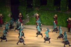 Gruzińscy tancerze obraz stock