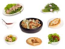 Gruzińska krajowa kuchnia Fotografia Stock