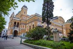 Gruzińska Krajowa opera i Baletniczy teatr która budowali w 1851 i Obraz Royalty Free