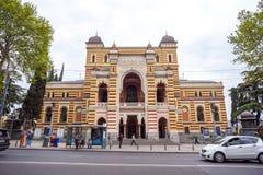 13 04 2018 - Gruzińska Krajowa opera i Baletniczy teatr który bu Fotografia Stock