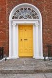 Gruziński drzwi, Dublin, Irlandia Obrazy Stock