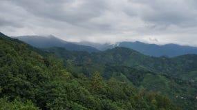 Gruzińskie góry Zdjęcia Royalty Free