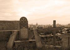 Gruzin Przecinający Tbilisi fotografia stock