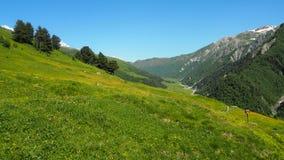 Gruzinu krajobraz Zdjęcie Royalty Free