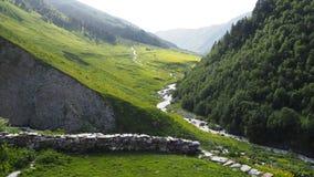 Gruzinu krajobraz Fotografia Stock