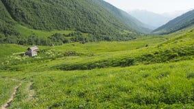 Gruzinu krajobraz zdjęcie stock