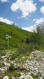 Gruzinu krajobraz obraz royalty free
