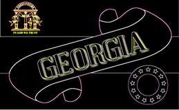Gruzja ślimacznica royalty ilustracja