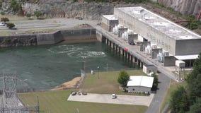 Gruzja, Carter jezioro, A zamknięty elektrownia przy dnem Carter jeziora tama widok zbiory