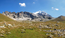 Gruzja Kaukaz góry Titnuld Zdjęcie Royalty Free