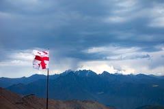 Gruzja natury góry krajobrazy Obrazy Royalty Free