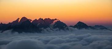 Gruzja natury góry krajobrazy Obraz Royalty Free