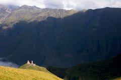 Gruzja natury góry krajobrazy Zdjęcia Stock