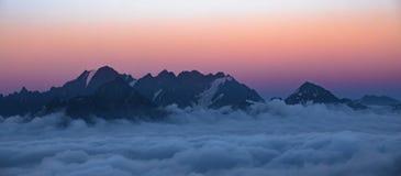 Gruzja natury góry krajobrazy Zdjęcia Royalty Free