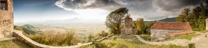 Gruzja panorama Obrazy Royalty Free