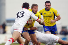 Gruzja rugby zdjęcia royalty free