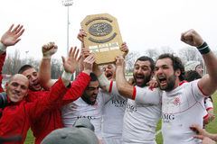 Gruzja rugby obrazy royalty free