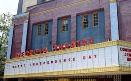 Gruzja Theatre Fotografia Stock