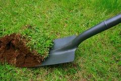 gräva past upp Royaltyfria Bilder