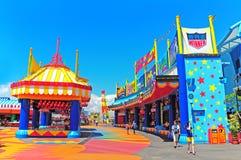 gry dzielą przy oceanu parka Hong kong Zdjęcie Royalty Free
