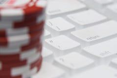 gry hazardowe on - line Obraz Stock