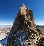 Góry Humphreys szczyt Obrazy Royalty Free